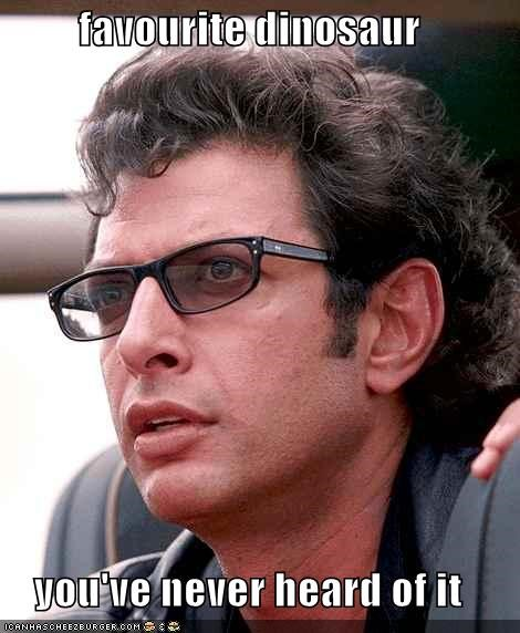dinosaurs hipster jeff goldblum jurassic park never heard of it - 5514089216