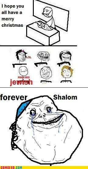 jewish kid,Memes,merry christmas,religion,shalom,the internets