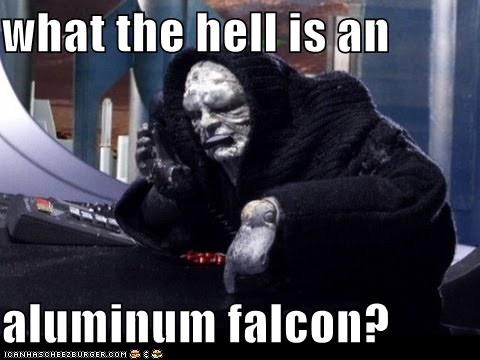 What the hell is an aluminum falcon