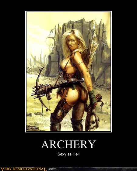 archery fantasy lady Pure Awesome wtf - 5516327680