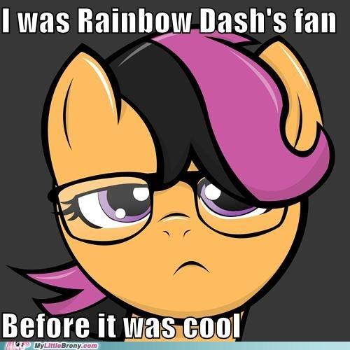 fanclub hipster meme rainbow dash Scootaloo - 5516723456