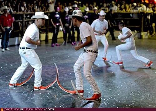boots dancing kill wtf