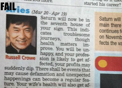 Jackie Chan Probably bad News Russell Crowe - 5518023168