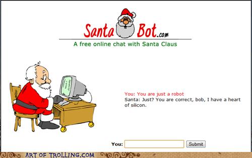 christmas,robot,santa bot