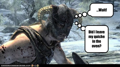 distracted dovahkiin fire oven priorities quiche Skyrim - 5518832384