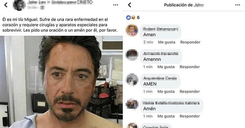 Tony Stark facebook