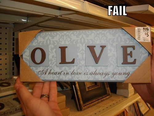 love product fail spelling typo - 5519436544