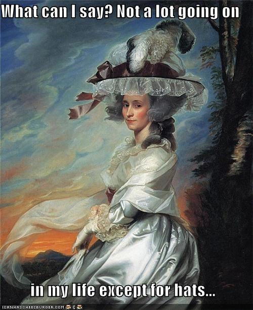 art hats historic lols obsesses with hats painting - 5520267008