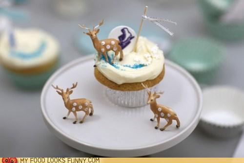 cupcake deer epicute frosting plastic winter - 5520285184
