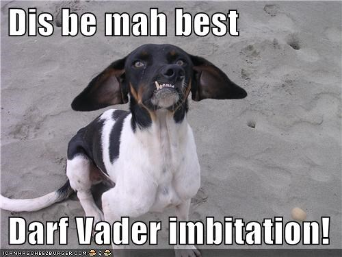darth vader,impression,mixed breed,sci fi,teeth,whatbreed