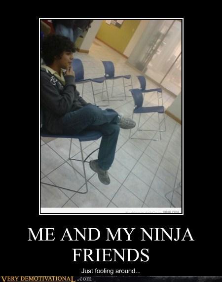 chairs hilarious ninjas wtf - 5521251328