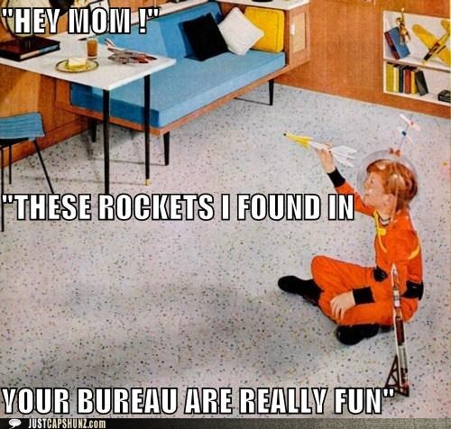 astronaut caption contest child imagination kid life on mars outer space playing space toy rockets toys