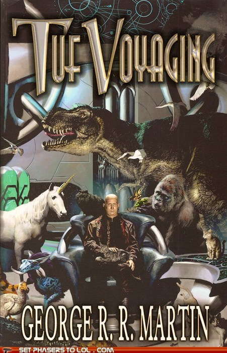book covers cover art dinosaurs George RR Martin science fiction wtf - 5521652480