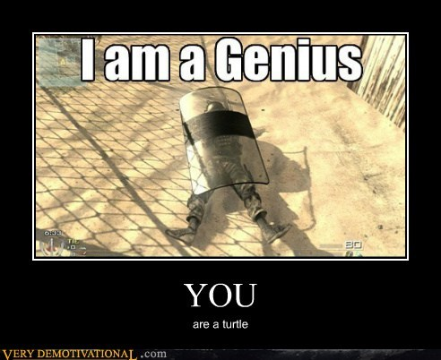 YOU are a turtle