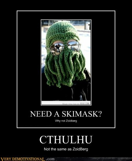 cthulhu hilarious ski mask Zoidberg - 5521732864
