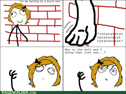 brick wall,Music,pink floyd,Rage Comics