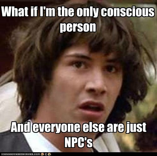 conscious conspiracy keanu keanu npc the matrix video game video games