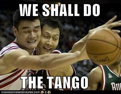 ball basketball dance derp tango yao ming - 5522042880