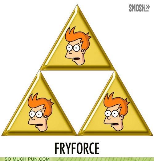 fry iconic literalism prefix similar sounding symbol the legend of zelda triforce - 5522046976