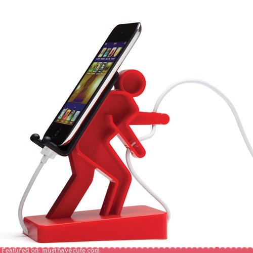 back carry holder iphone man stand - 5522059264