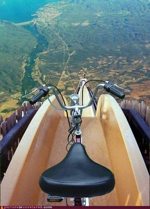 best of week,bicycle,this-wont-end-well,water slide,wtf