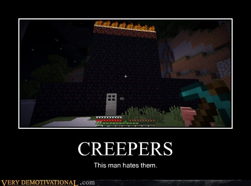 creepers,hilarious,minecraft,video games
