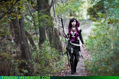 cosplay dragon age hawke morrigan video games - 5522237696