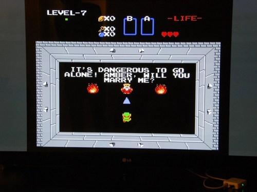 hack,its dangerous to go alone,marriage proposal,the legend of zelda,video games,zelda