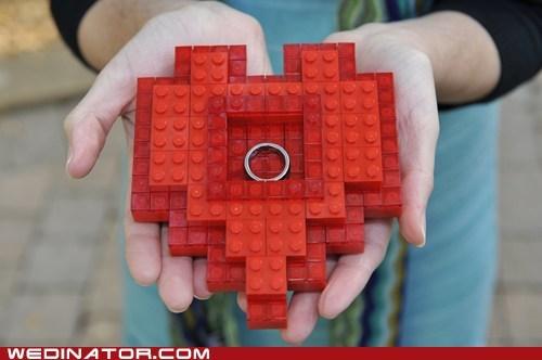 funny wedding photos geek proposal ring video games zelda - 5522279680