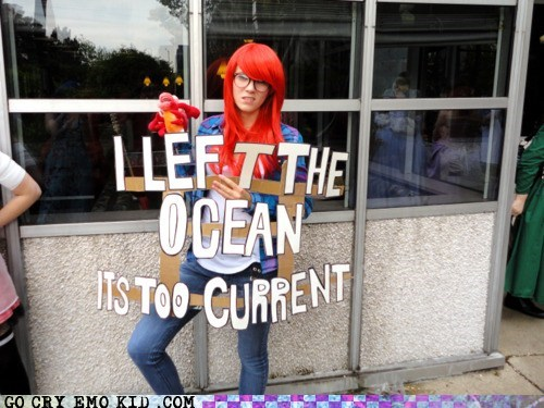 best of week Hipster Ariel hipsterlulz IRL mermaid ocean - 5522290688