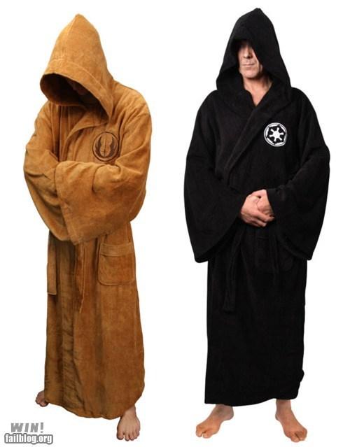 bath robe design fashion g rated Hall of Fame lazy nerdgasm robe star wars win - 5522356992