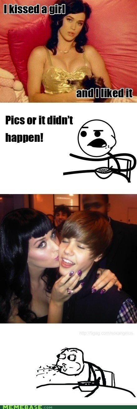 cereal guy girls justin bieber katy perry KISS Music - 5522416896