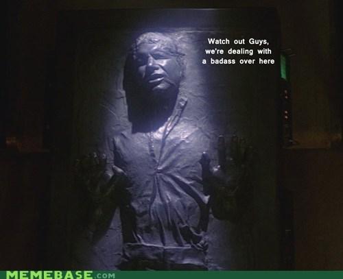 Badass boba fett carbonite Han Solo star wars - 5522487040