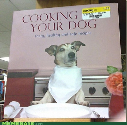 Awkward cooking dogs How To shoppers beware sticker - 5522682880