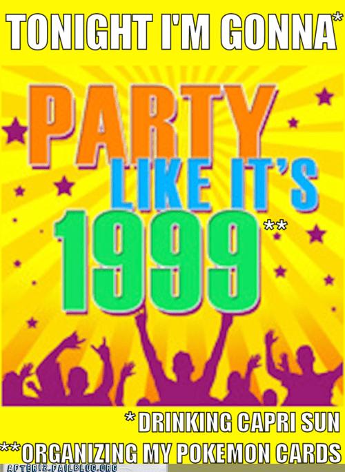 1999 90s 90s Are All That 90s kids capri sun nostalgia old Pokémon - 5522854656