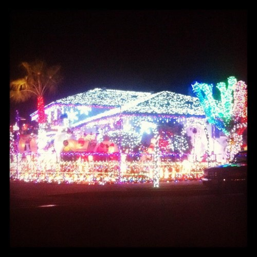 BAMF,christmas lights,decorations,house,win