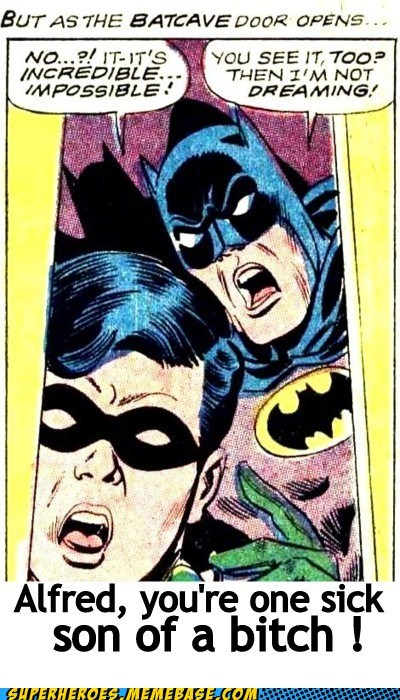 alfred batman eww robin sexy times Super-Lols wtf - 5523055360
