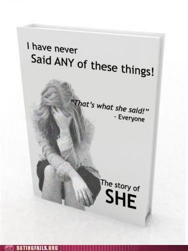 book books classic dating merchandising thats what she said TWSS We Are Dating - 5523072512