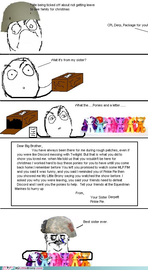 best sister,best of week,brony troops,comics,rage comic,sistah,troops