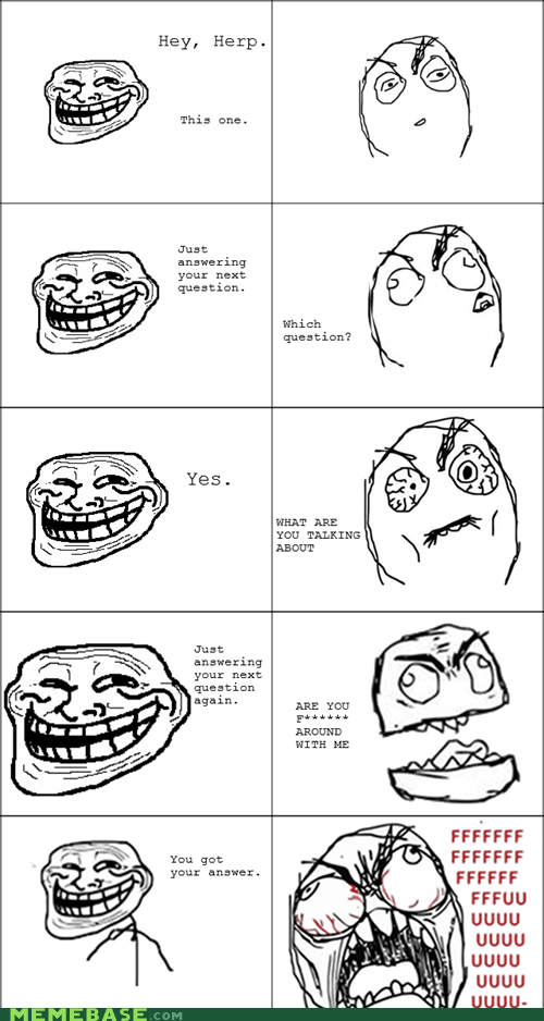 annoying questions Rage Comics troll - 5523241472