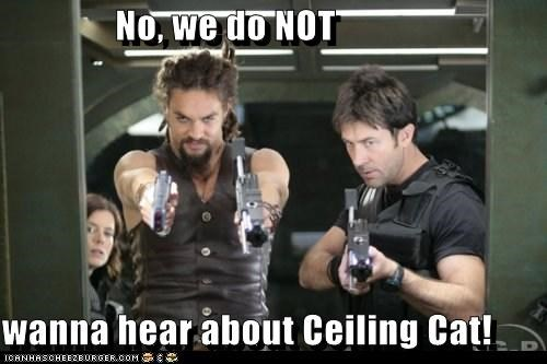 ceiling cat Jason Momoa joe flanigan john sheppard ronan dex Stargate stargate atlantis - 5523256064