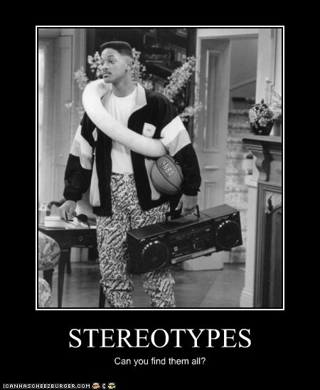STEREOTYPES Can you find them all?