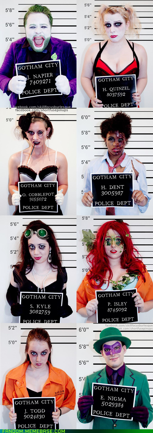 Arkham Asylum,batman,burlesque,cosplay,gotham city,Harley Quinn,harvey dent,joker