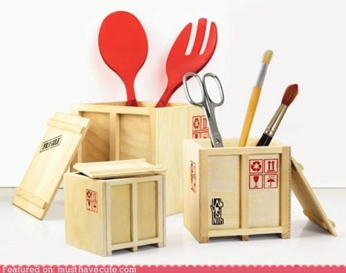 cargo crates desktop miniature storage - 5524406528