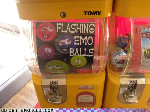 balls,flashing,toys,weird kid