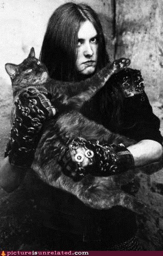 best of week black metal cat hardcore metal wtf - 5525781504