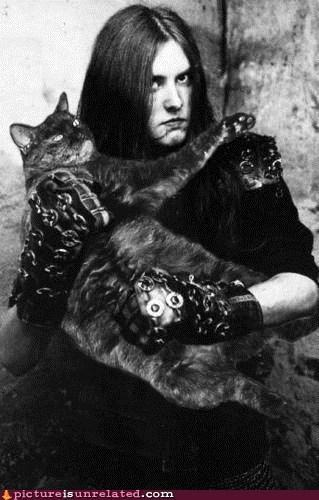 best of week black metal cat hardcore metal wtf - 5525781504