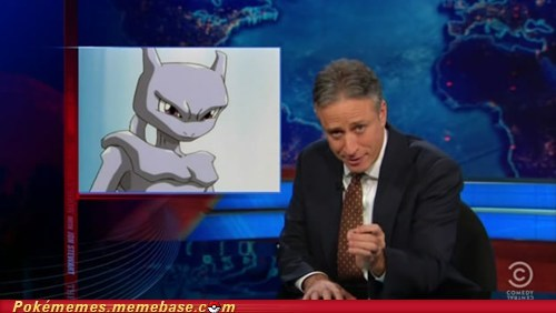 best of week,herman cain,mewtwo,Pokémon,pokemon movie,shellder of knowledge,slowking,the daily show,tv-movies