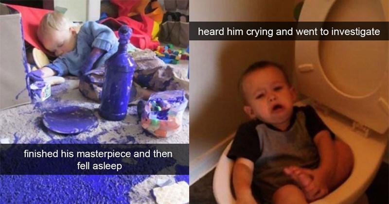 funny parenting pics