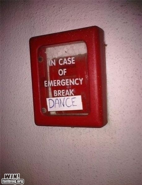 break dance,dance,emergency,fire alarm,graffiti,hacked irl,party time